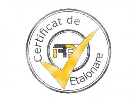 Certificat de etalonare