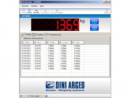 Program computer Dini Argeo WeiMonitor